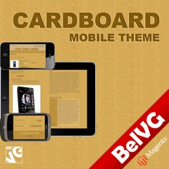 Cardboard Magento Mobile Theme