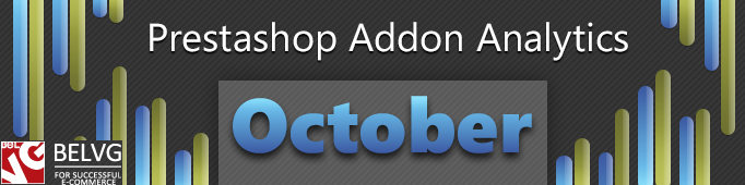Prestashop Addon Analytics. October