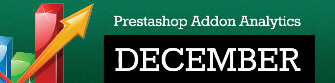 Prestashop Addon Analytics. December