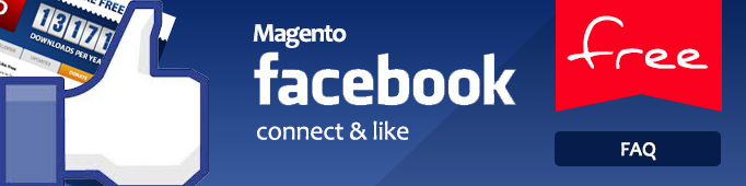 Magento Facebook Connect And Like Free FAQ