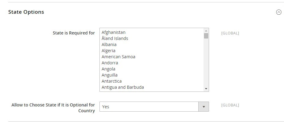 Best Way to Remove Disable States Province Field for Specific Countries in Magento