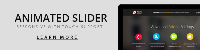 Magento Animated Slider