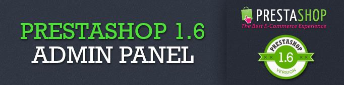 Prestashop 1.6 Admin Panel