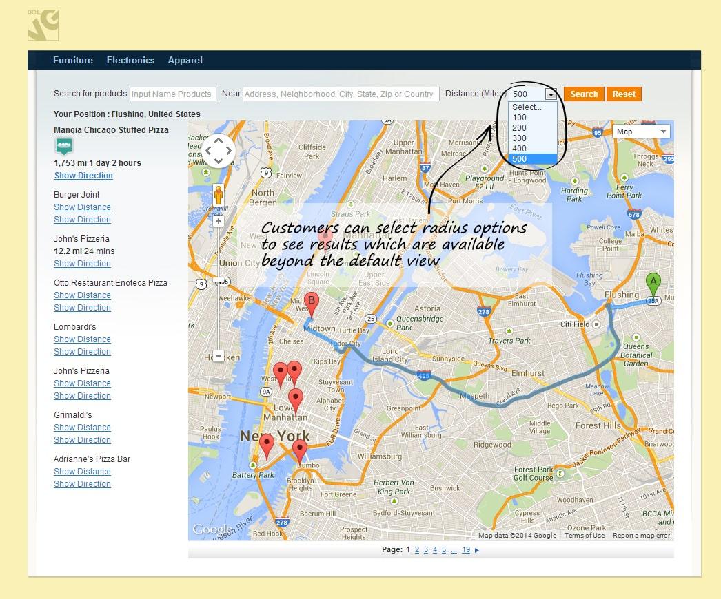 Magento Store Locator v.2.0