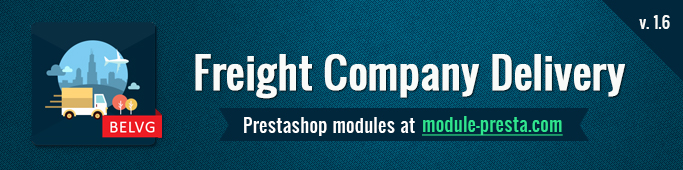 Prestashop Freight Company Delivery