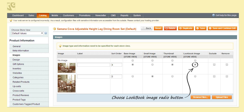 screen-9Magento LookBook