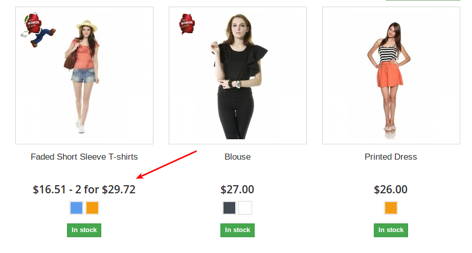 1_How to Display Special Prices According to Quantity at the Product List (Category) in Prestashop