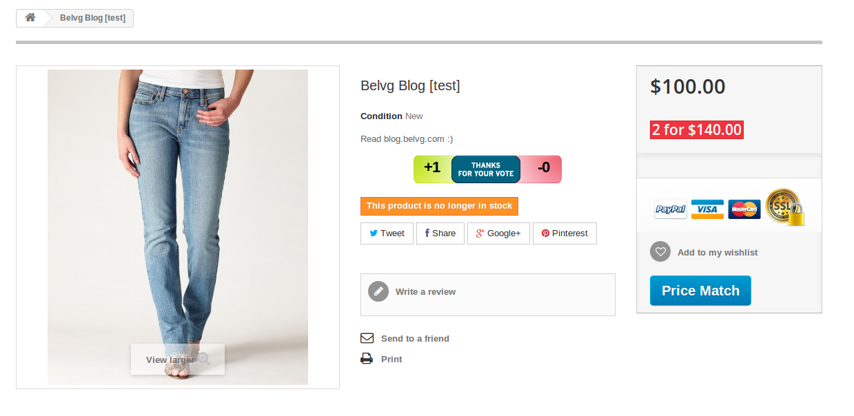 4_How to Display Special Prices According to Quantity at the Product List (Category) in Prestashop