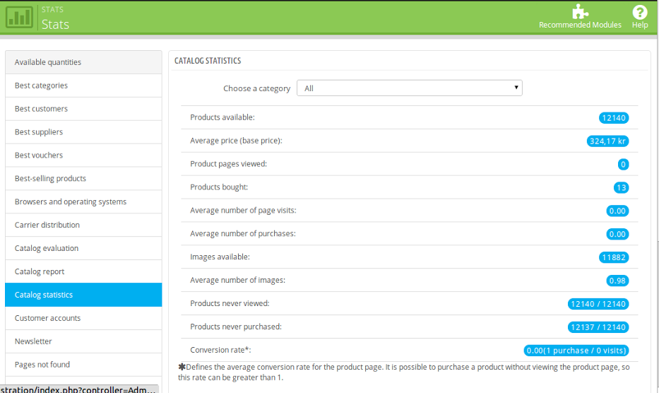 1_How to Create Custom Reports Based on Statistics Module in Prestashop