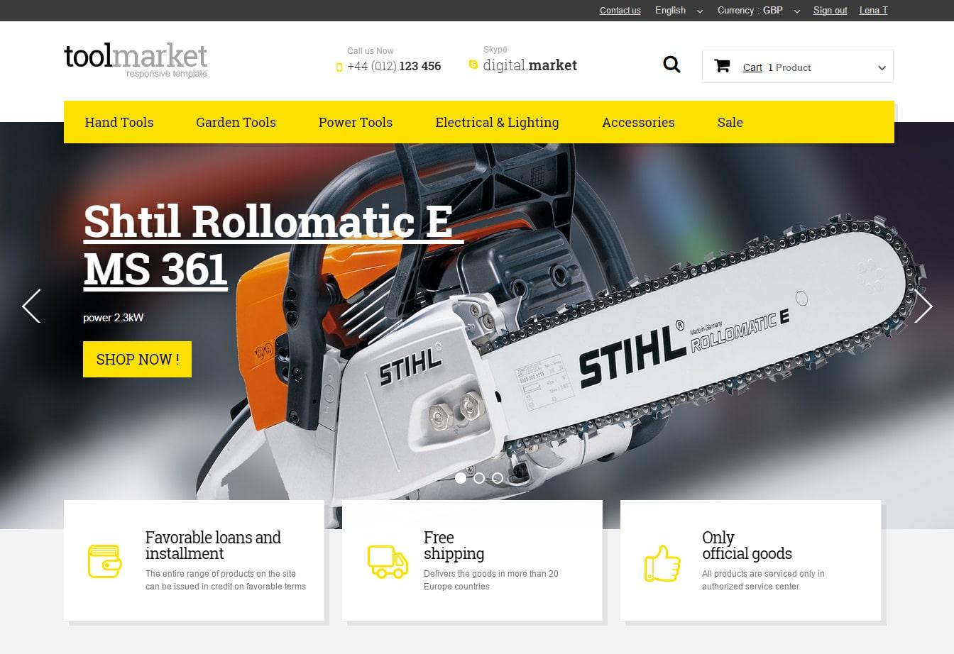 2Tools Market Prestashop 1.6