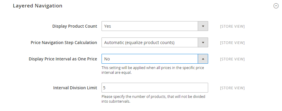 Price Navigation in Magento 2.0