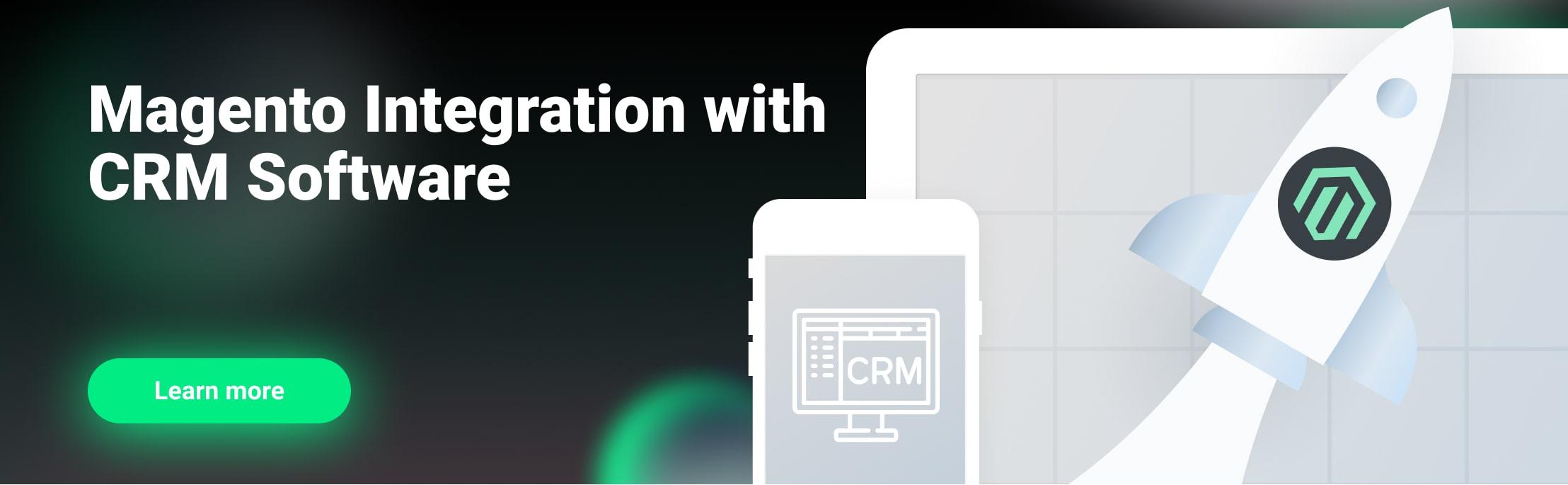 Magento CRM integration