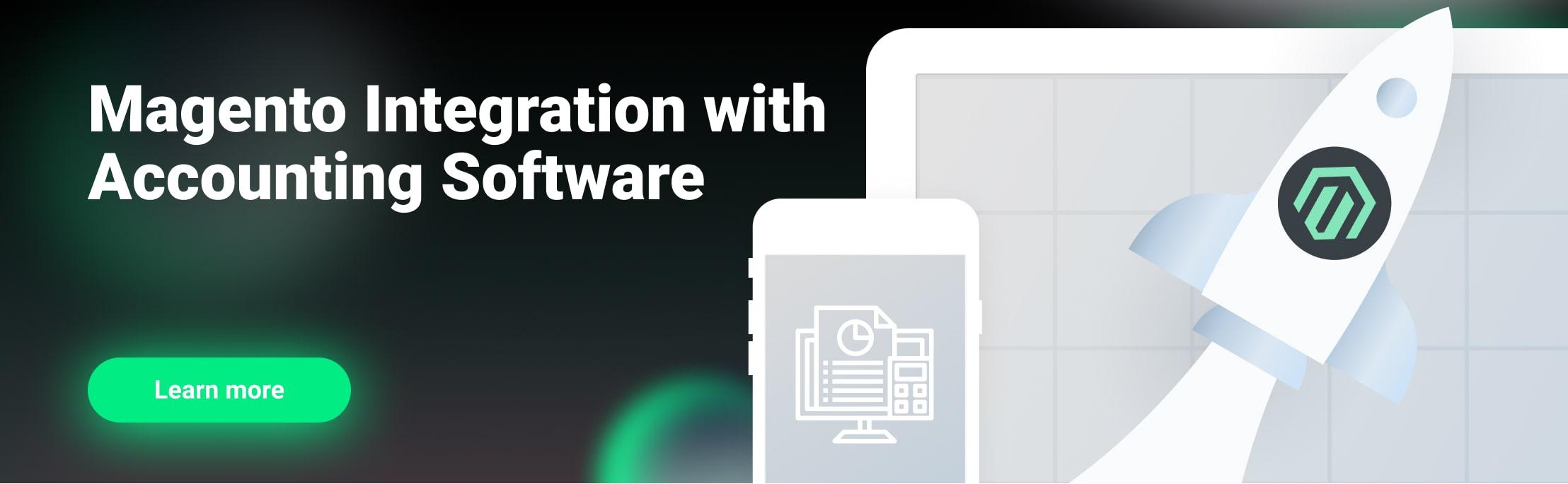 Magento accounting software integration