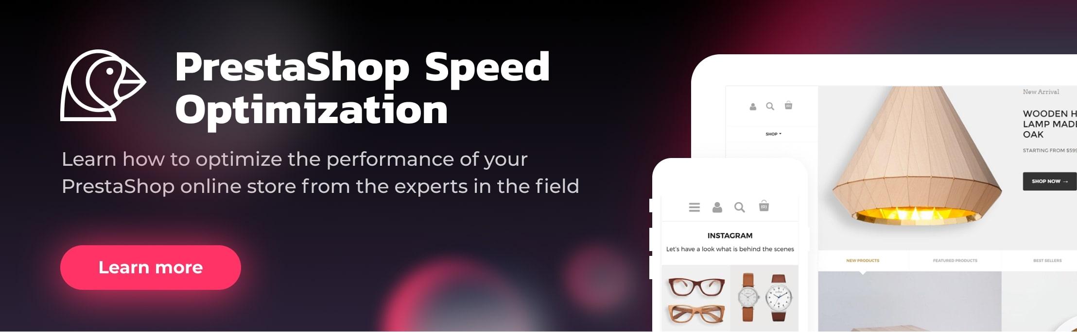 Prestashop Speed Optimization
