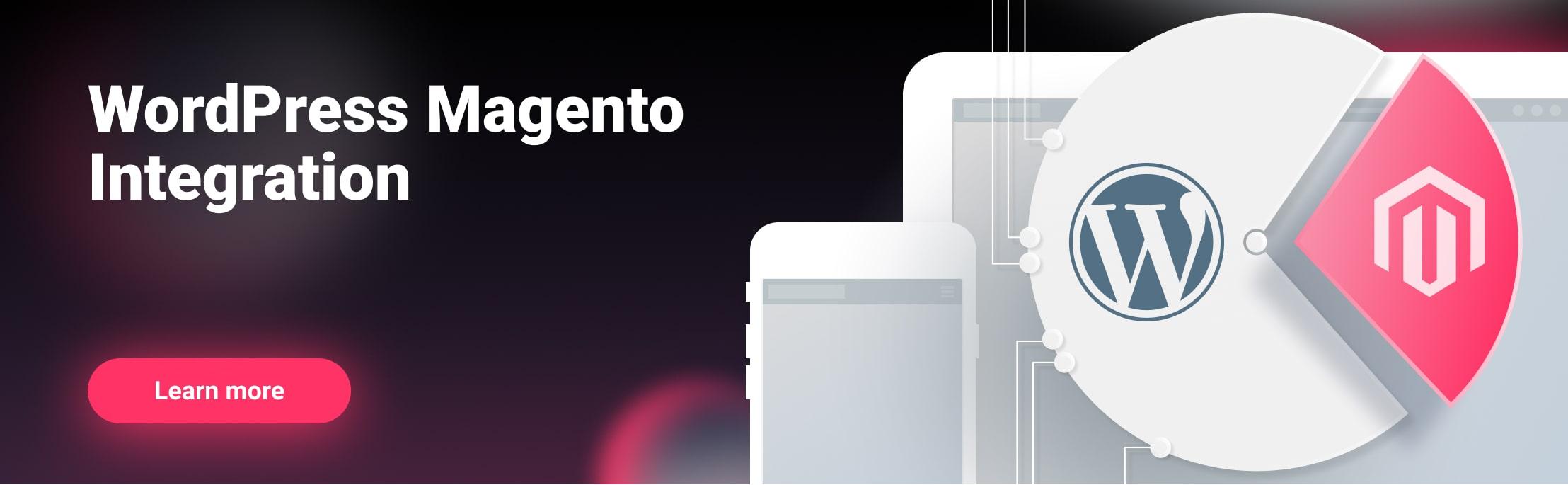 WordPress Magento Integration