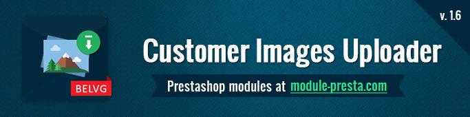 Customer images uploader