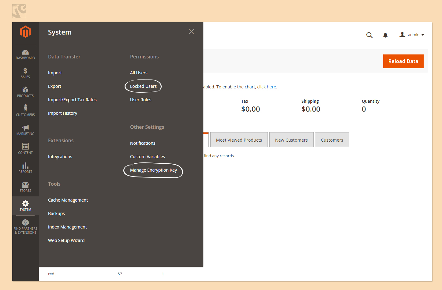 What's New in Admin Panel of Magento 2.0