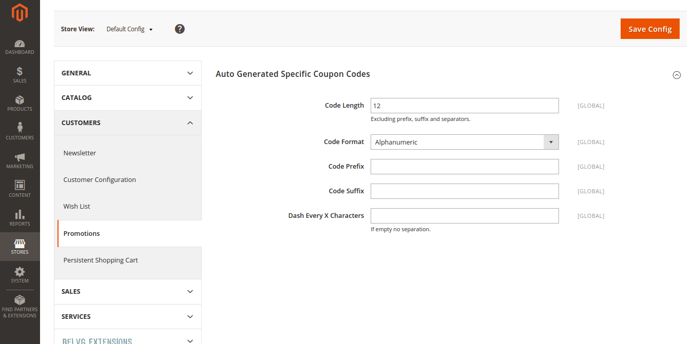 Auto-Generation of Coupon Codes in Magento 2.0