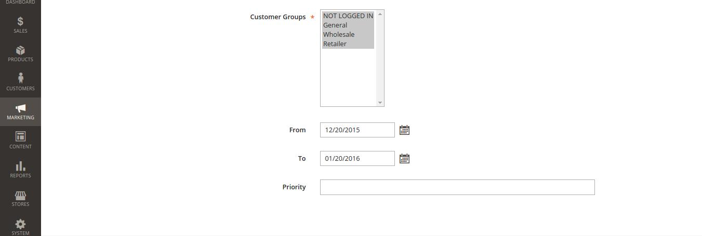 Catalog Discount in Magento 2.0