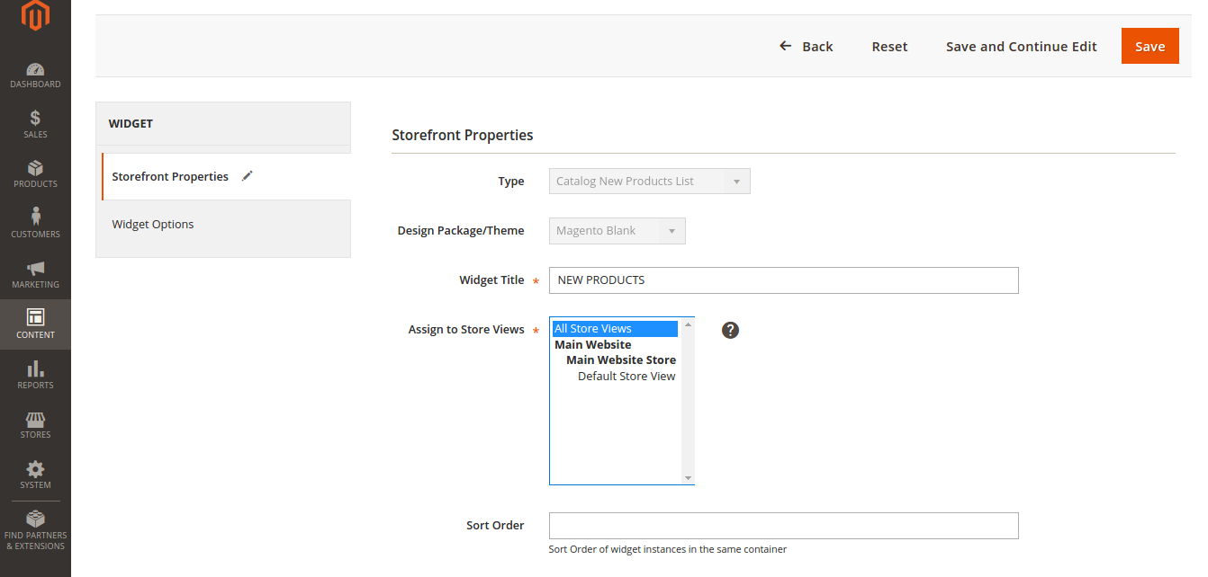 New Product List in Magento 2.0