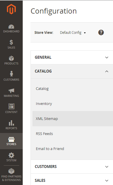 How to Generate a Sitemap in Magento 2.0