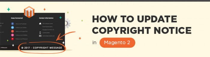 How to Update the Copyright Notice in Magento 2