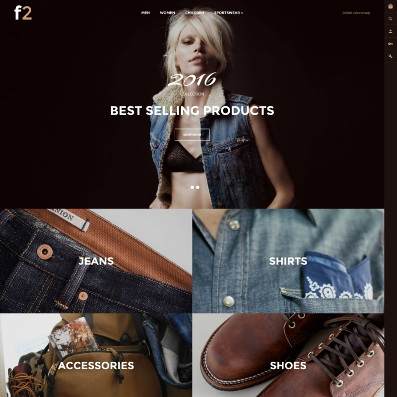 one of the best Magento theme