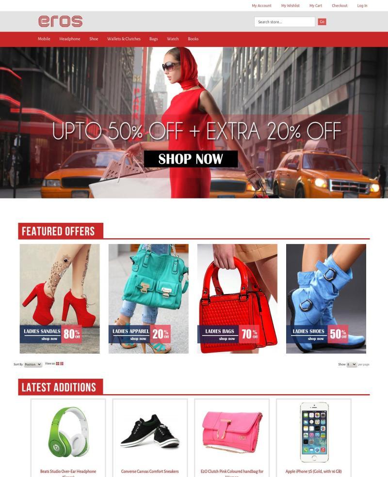 nice theme for ecomerce web-site