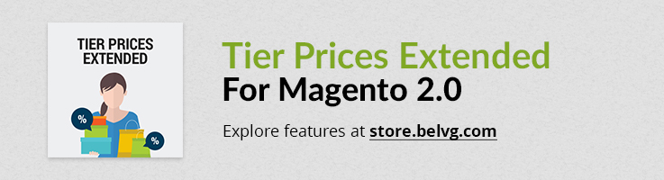 Big Day Release: Tier Prices Extended for Magento 2.0