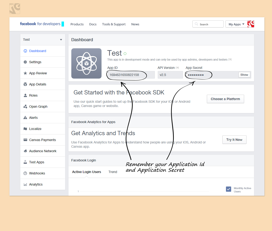 How to Create a FaceBook App