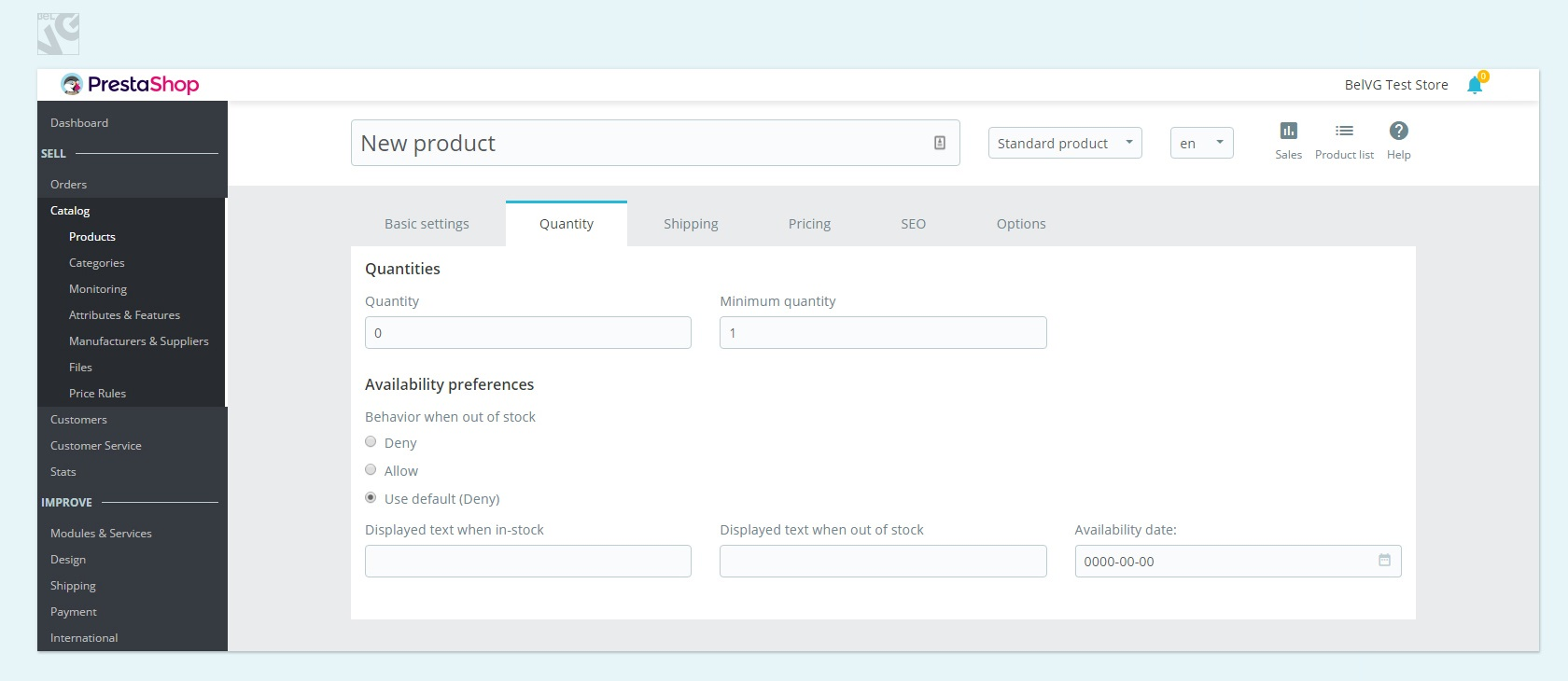 Walking Through Prestashop 1.7: Adding a New Product