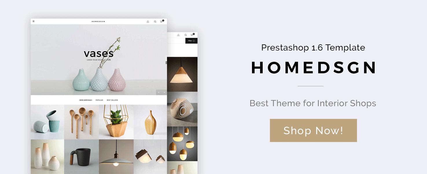 Big Day Release: Home Design Prestashop Template | BelVG Blog