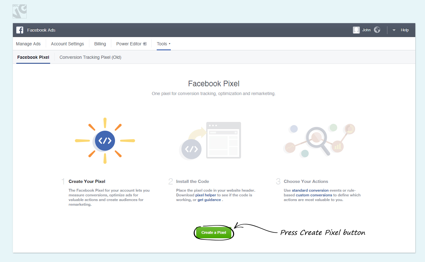 Facebook Conversion Tracking Pixel