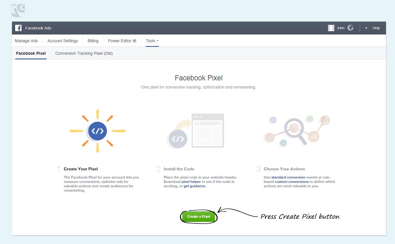 Facebook Conversion Tracking Pixel