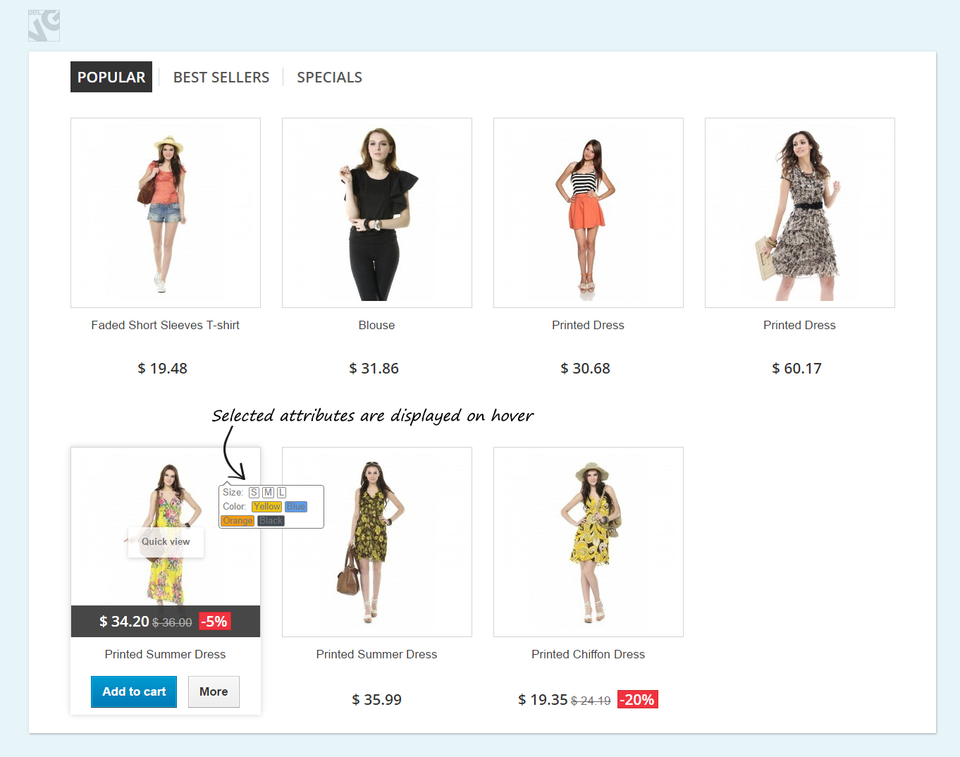 Big Day Release: Prestashop Product Hover