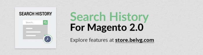 Big Day Release: Search History For Magento 2.0