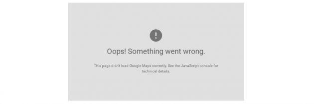 How to fix Google Maps API error 'MissingKeyMapError' in PrestaShop