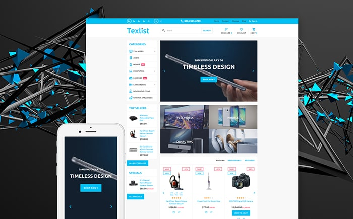 Electronic Devices PrestaShop Template