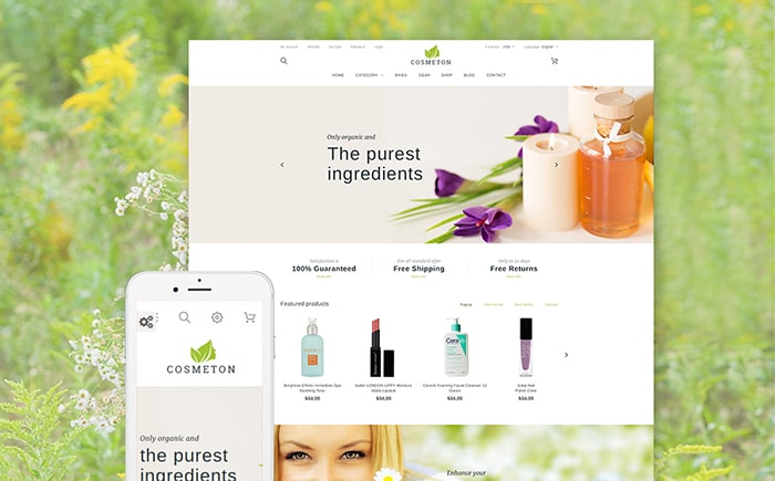 Beauty Supply Store PrestaShop Theme