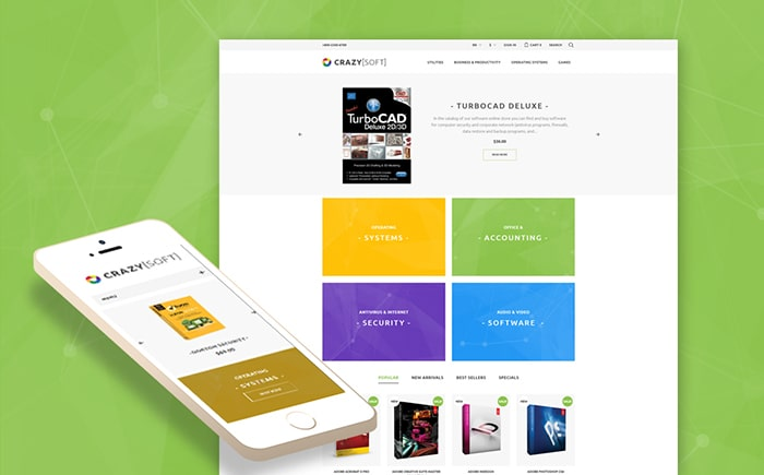 Software PrestaShop Theme