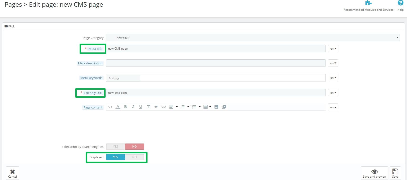 How to Add Categories in a Drop Down Menu in Prestashop 1.7