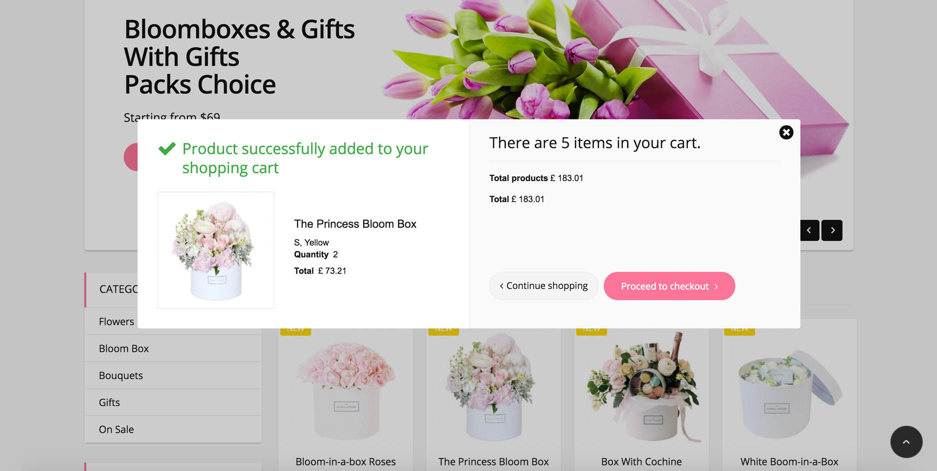 Big Day Release: Prestashop 1.6 Flower Kiosque Responsive Template