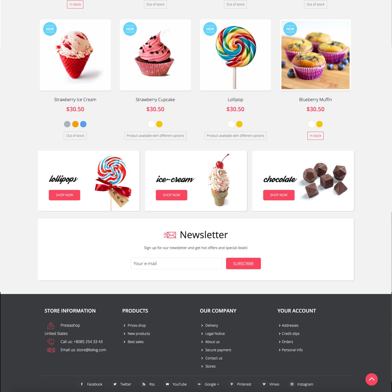 Big Day Release: Sweett Prestashop 1.7 Responsive Theme