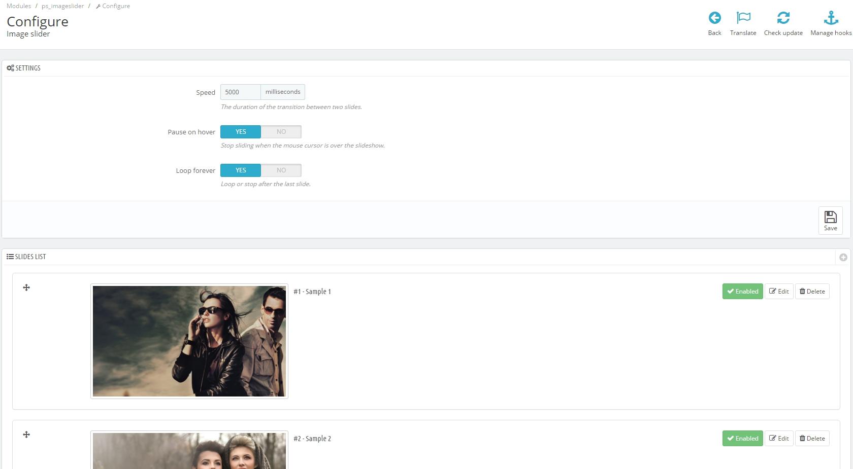 Prestashop 1.7: How to Configure A Homepage Slider