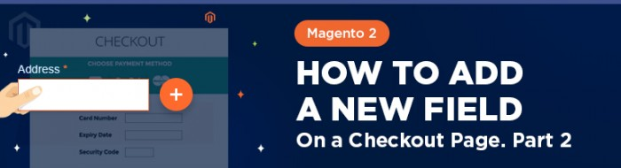Magento 2: How To Add a New Field On a Checkout Page. Part 2