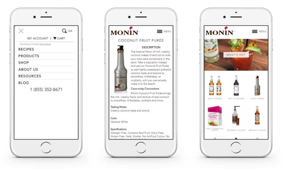 Our Works: Monin.com/m