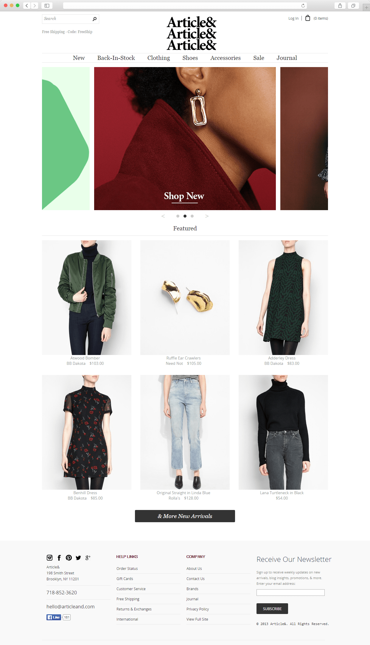 Modern e-Commerce Web-Design Trends. Part 1