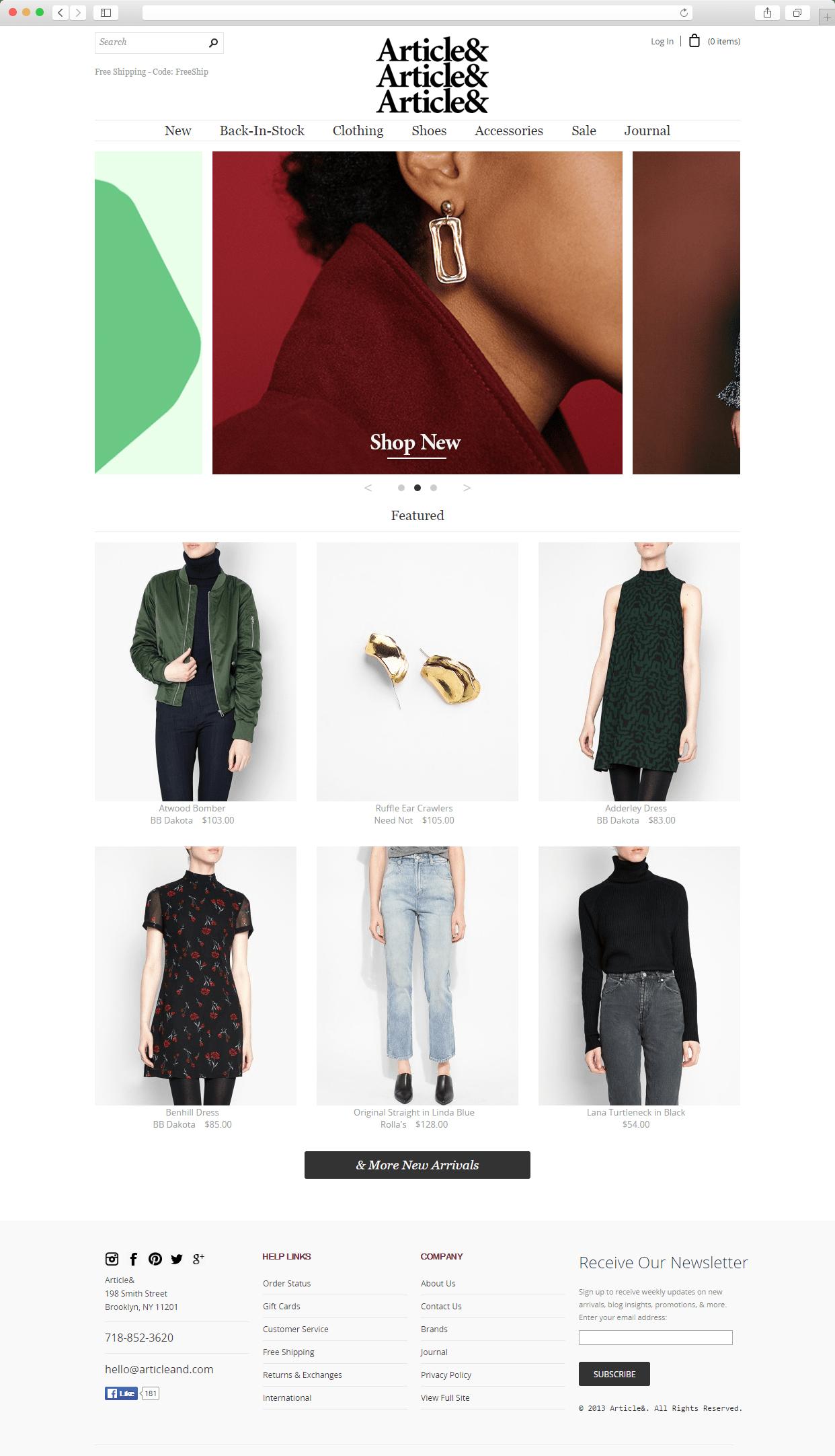 Modern e-Commerce Web-Design Trends. Part 1