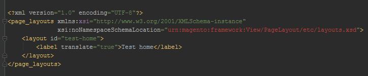 1 custom homepage magento 2