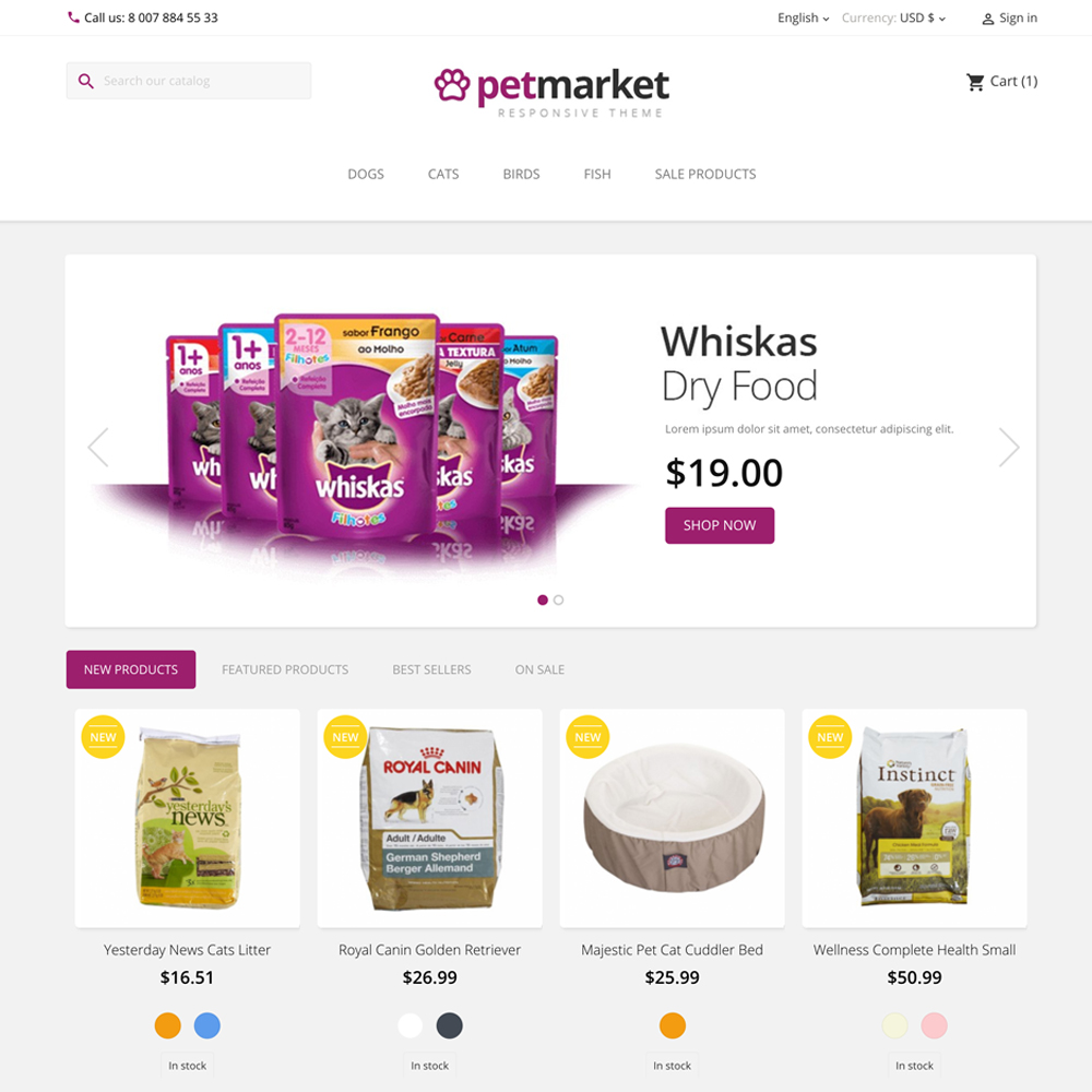 petmpetmarket prestashop 1.7 theme